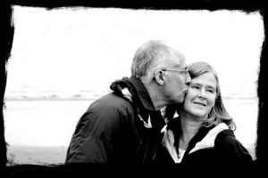 senior couple in florida